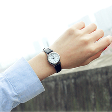 Luobos Small Dial Fashion font b Women b font font b Watch b font Casual Leather