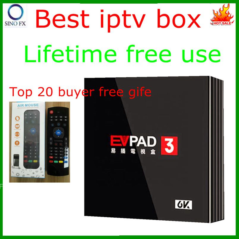 2019 EVPAD3 Singapore best android 7 0 tv box lifetime free iptv instead of  starhub cable box EVPAD 3 Singapore fibre box