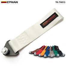 Высокая прочность гоночный буксировочный ремень Набор для переднего/заднего бампера крюк для Jeep Wrangler TK-TH013