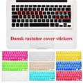 """EU Danish Keyboard Stickers Skin Cover for Macbook Pro 13"""" 15"""" 17""""/Macbook Air 13 inch Silicone keyboard Cover Protective Film"""