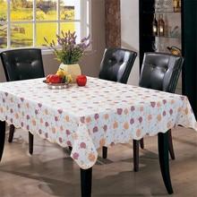 3 Tamaños Mantel Impermeable PVC Aceite Prueba Party Home Nappe Engrosada 25 Grados Temperatura de Deformación Cocina Herramientas Cena