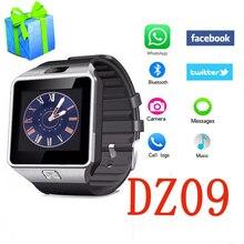 U8 Reloj inteligente DZ09 Digital de Pulsera Con Hombres Electrónica Bluetooth Smartwatch para IOS de Apple iPhone Android Huawei Xiaomi teléfono