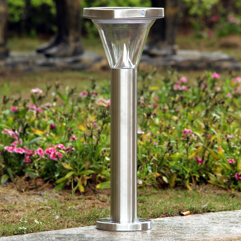 PIR-Sensor Solar Powered Pathway Garden Lights Outdoor Stainless Steel Landscape Lighting for Lawn/Patio/Yard/Walkway/Driveway кеды face face fa024awiru60