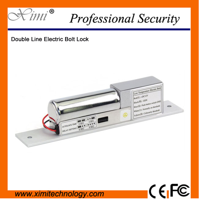 Double Line Fail safe simple Electric Bolt with Normal temperature Fail-Safe Drop Door Access Control System Electric Bolt Lock double line fail safe simple electric bolt with normal temperature fail safe drop door access control system electric bolt lock
