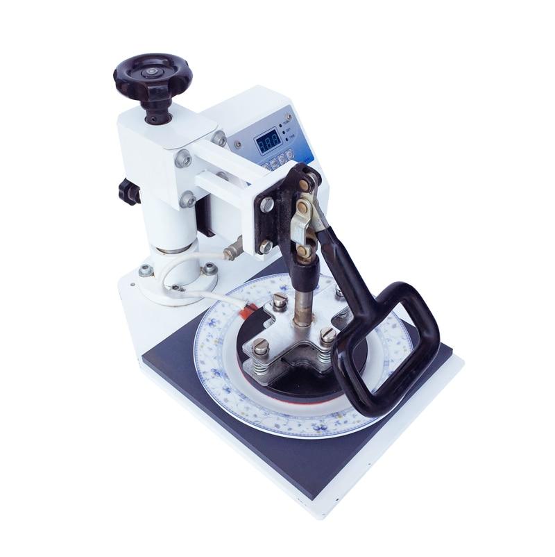 8 Inch Plate Heat Press Machine Digital Swing Away Heat Press Machine Sublimation Transfer Printing for 11cm Diameter montblanc montblanc mb 0344 016