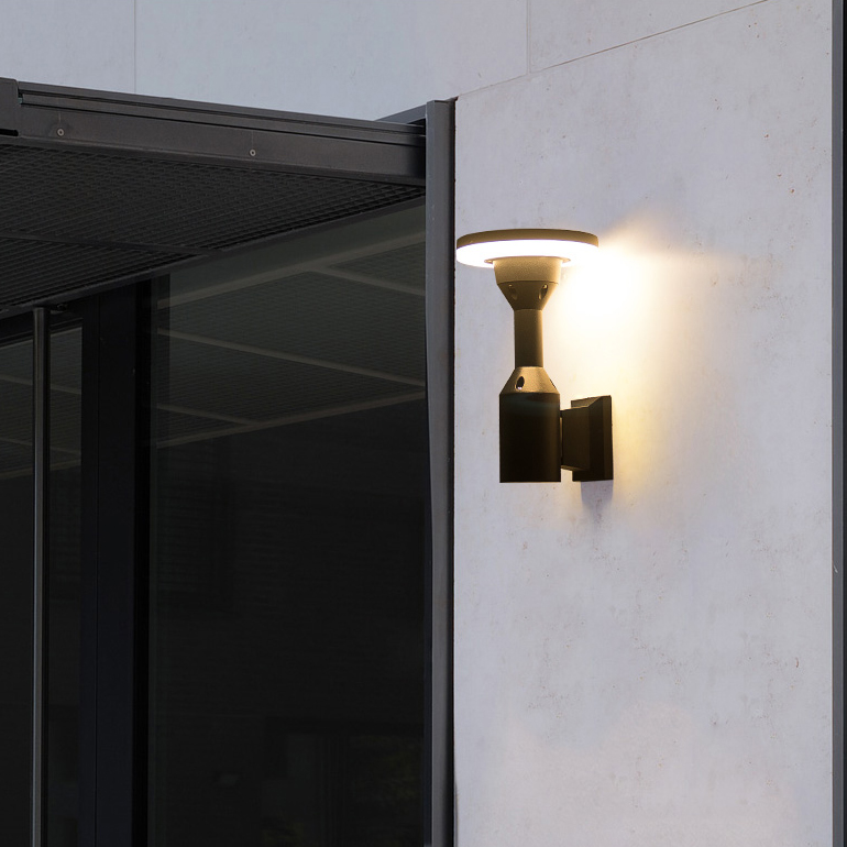 12w Led Exterior Wall Lights Fixtures
