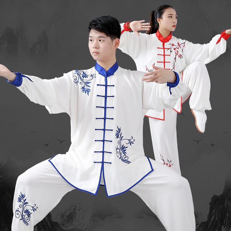 Taiji Chinese Traditional Kimono Jiu Jitsu Jodu Wushu Kung Fu Shaolin Uniform Hakama Kimono Jiu-jitsu Sport Suit Roupa Tai Chi