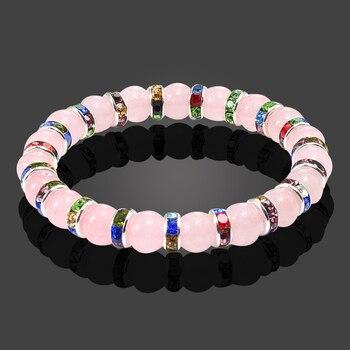Bracelet D'allaitement Quartz Rose