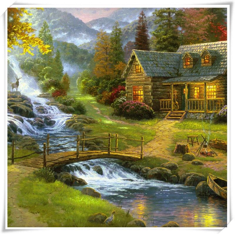 Online Get Cheap Mountain Cabin Homes