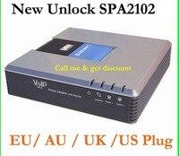 Linksys Voice SIP IP voip SPA2102 телефонный адаптер маршрутизатора телефонного сервера telefone телефона telefonia адаптер Системы разблокирована бесплатная