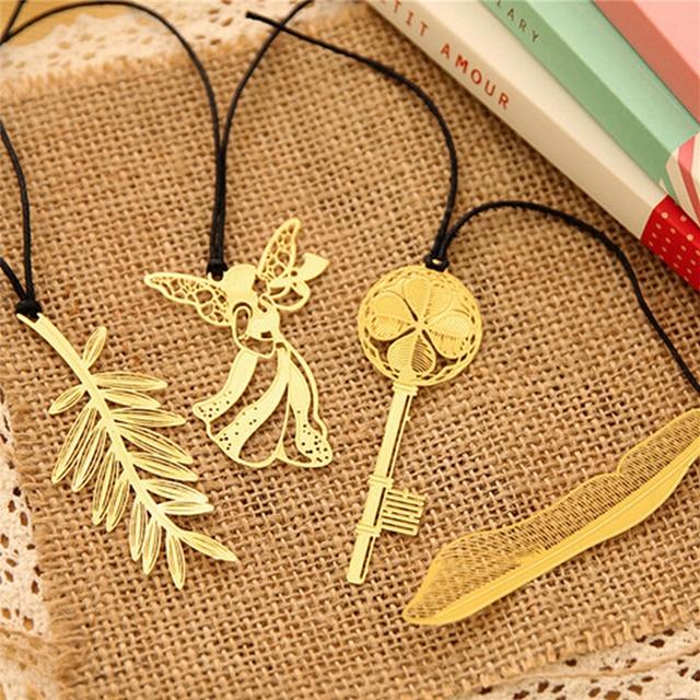 4 stucke koreanische mini nette kawaii gold metall lesezeichen buroklammer antike uberzogene schmetterling libelle lesezeichen statioenry