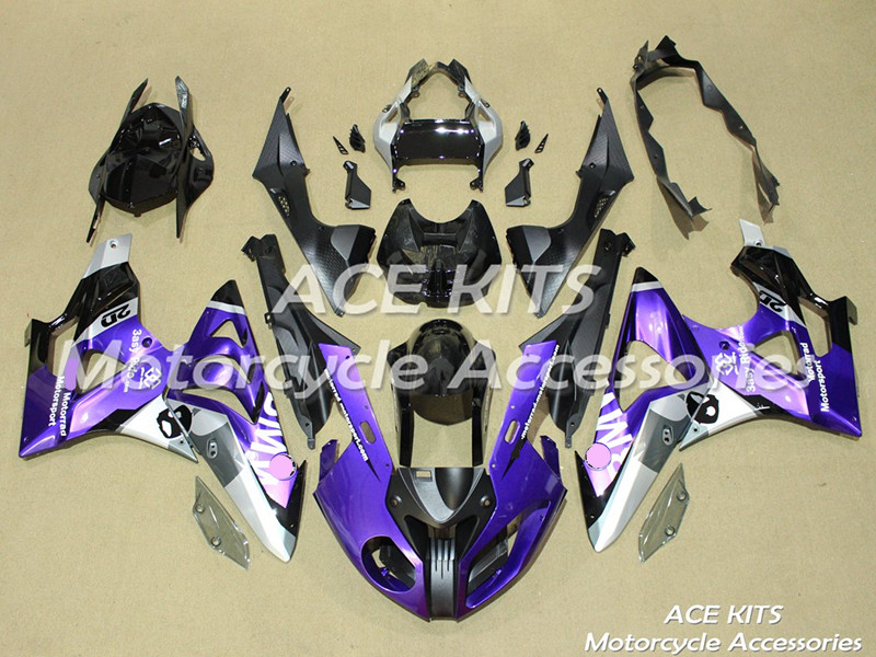 New ABS motorcycle Fairing For BMW S1000RR 2009 2010 2011 2012 2013 2014 Injection Bodywor All sorts of color No.393