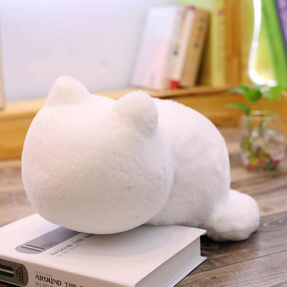 Ashin Gatto peluche cuscini cuscino Posteriore Gatto Ombra Riempito cuscino animale giocattoli Per Bambini Regalo Complementi Arredo Casa Per Il Natale