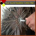 25cm x100cm Auto Heat Sound Acoustic Insulation Aluminum Foil Cotton Dampening Material Noise Control Self-Adhesive
