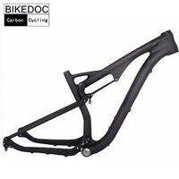 BIKEDOC Carbon Frames 700C High Quality Carbon MTB Frame 29er Bicicleta Carbono Frame Full Suspension Bicycle Frame