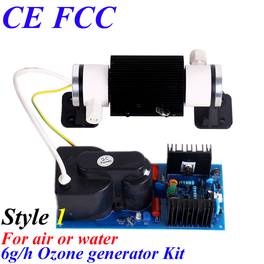 CE EMC LVD FCC 6g corona discharge ozonator tube ce emc lvd fcc ozonator portable