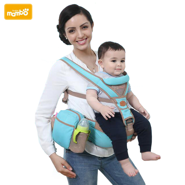 9dad499fa61 Mambobaby 3 30 Months Baby Carrier Baby Sling Hipseat Kanguru Baby Wrap  Backpack Breathable Infant Carrier 4 Positions-in Backpacks   Carriers from  Mother ...