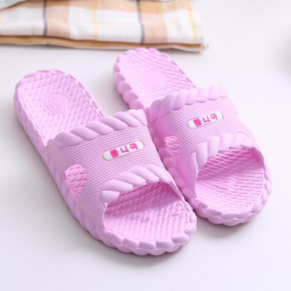 цены Summer Bath Slippers Flip Flops Shoes Women Floor Indoor Home Slippers Flats Open Toe EVA Sandals Shoes Pantoufle Femme