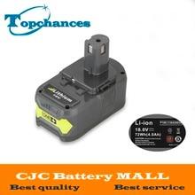 Haute qualité 18 V 4000 mAh Li-Ion Pour Ryobi Chaude P108 RB18L40 Haute Capacité Rechargeable Batterie Power Tool Batterie Ryobi ONE +