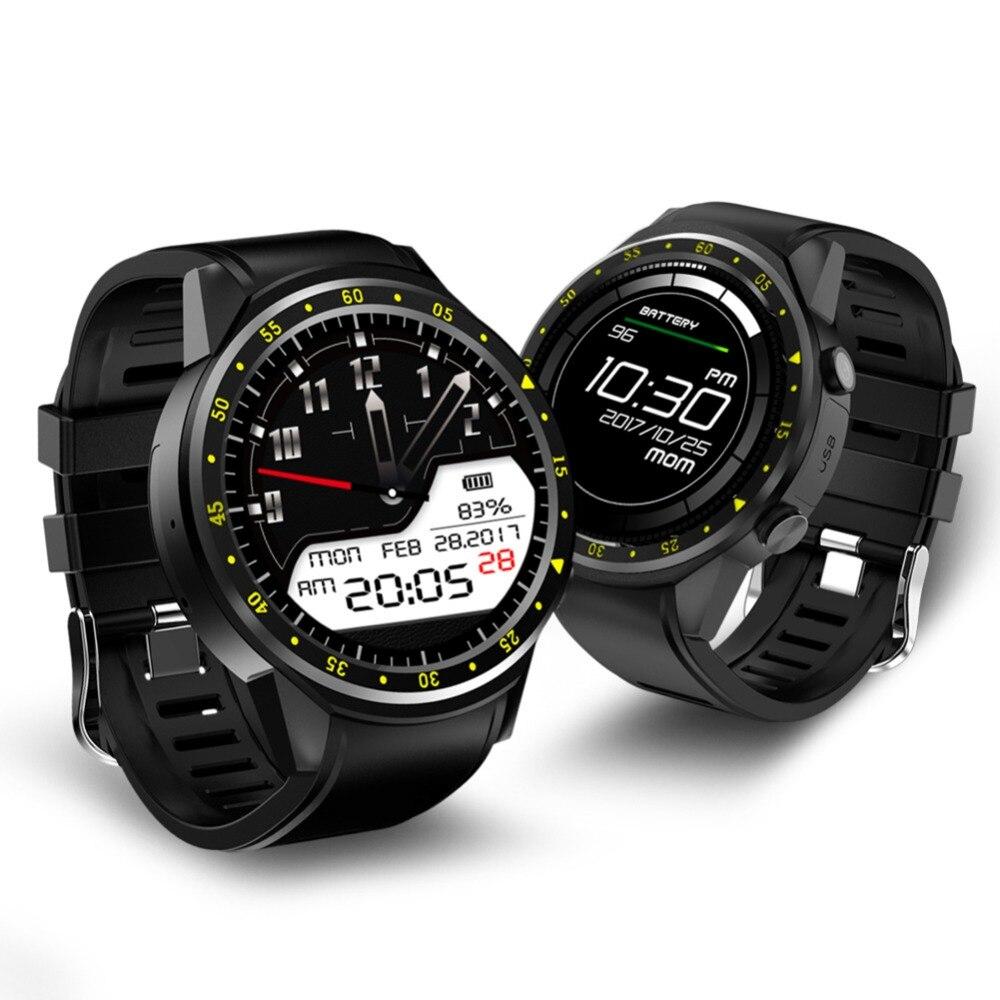 ALLOYSEED F1 Sport Smart Watch GPS Tracker Locator Heart Rate Altitude Temperature Monitor Smartwatch Phone Smart Wristwatch
