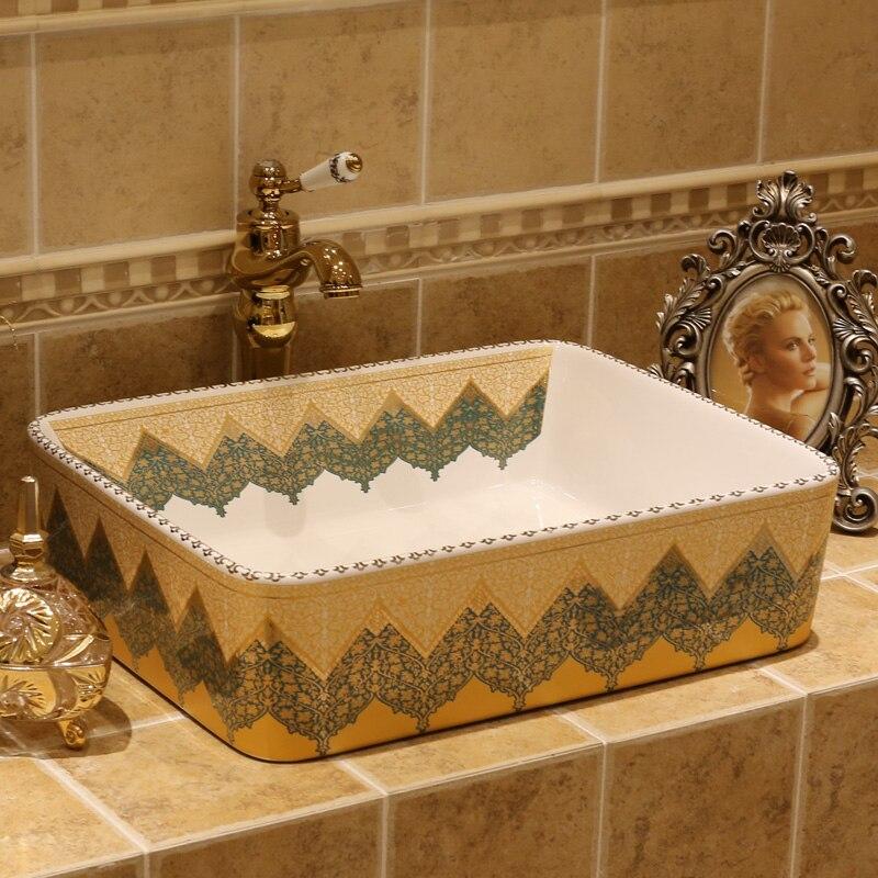 Ancient ceramic wash basin porcelain bathroom sinks bathroom Ceramic ...