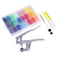 Metal Press Pliers Tools Fastener Snap Pliers 360 Set T5 Plastic Button Resin Press Stud