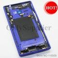 100% original a estrenar teléfono móvil cubierta trasera caso de la cubierta/tapa de la batería de vivienda para htc windows phone 8x c620e, 3 colores
