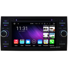 QuadCore Android 5.1.1 1024*600 Car DVD Player Radio Stereo Audio Screen For Ford Transit Focus C-MAX S-MAX Fiesta Kuga Fusion