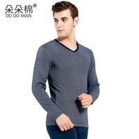 DO DO MIAN Winter Long Underwear Gym Fitness Cotton Thermal Underwear Sets Sexy Men Warm Long
