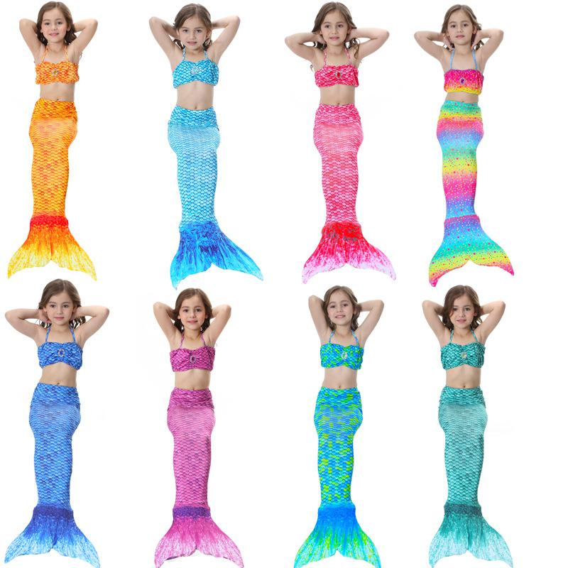 Children Mermaid Swimming Suit Mermaid Tail Swimming Suit Mermaid Clothing Swimming Suit Bikini Swimming Suit Female