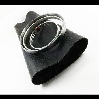 Bolsas de caucho de fuelle de la vejiga de aire con kits de reparación de anillos (manga de goma) para Audi Q7 para VW Touareg/Por-sche frente/parte trasera