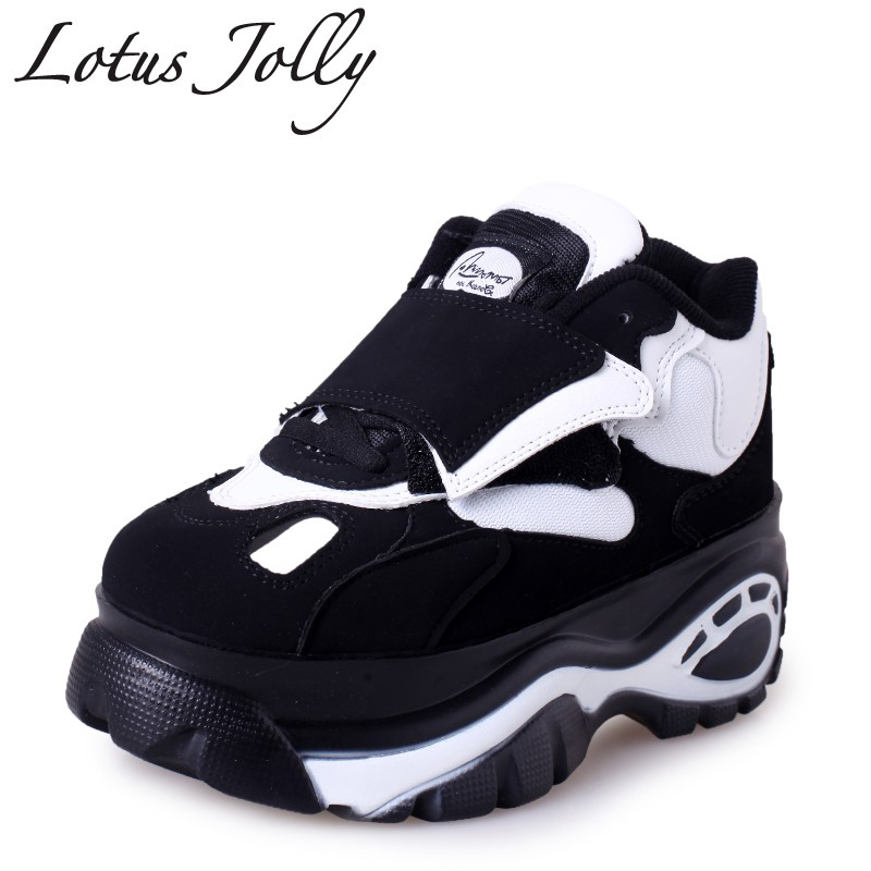 Lotus Jolly 2018 Women shoes Sneakers Flats zapatillas deportivas woman Creepers Casual shoes increasing heel zapatos mujer 2017brand sport mesh men running shoes athletic sneakers air breath increased within zapatillas deportivas trainers couple shoes