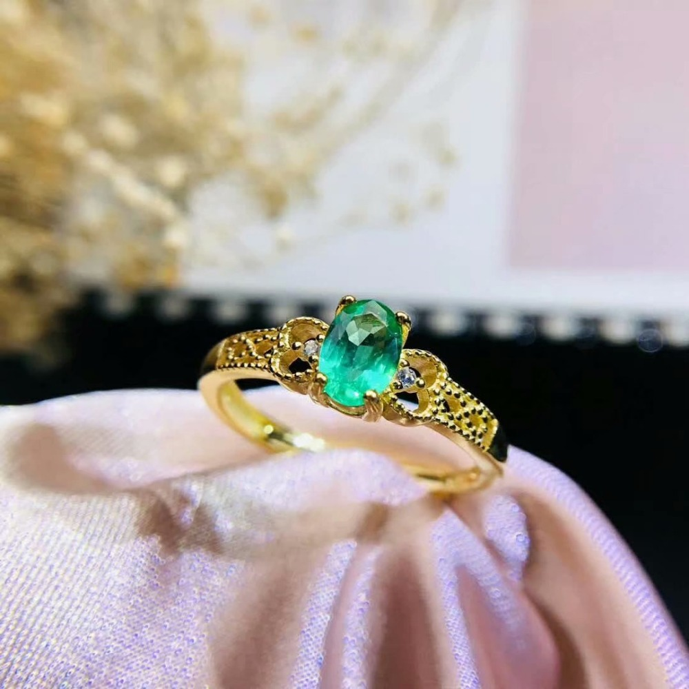shilovem 925 sterling silver real Natural Emerald Rings fine Jewelry Customizable women open new wholesale 4*6mm jcj0406789agmlshilovem 925 sterling silver real Natural Emerald Rings fine Jewelry Customizable women open new wholesale 4*6mm jcj0406789agml