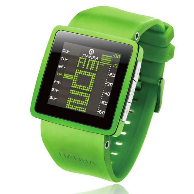 Tempo unisex table touch screen dial smart watch mp3 charge type sports table
