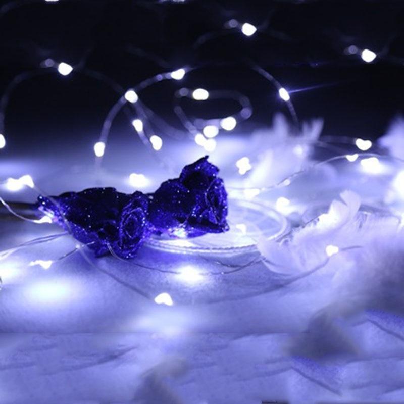SPLEVISI Bateria Powered String Fairy Lights 20LEDs / 30LEDs / 50LEDs - Ndriçimi i pushimeve - Foto 3