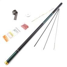3.6M 4.5M 5.4M 6.3M 7.2M 8.1M Ultra Light Stream Hand Fishing Rod Telescopic Carbon Fiber Feeder Fishing Rod Carp Pole