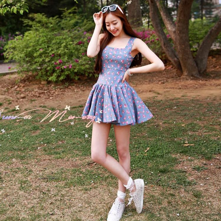 Women Summer Dress Kleider Plus Size Dresses Ladies Floral Kawaii ...