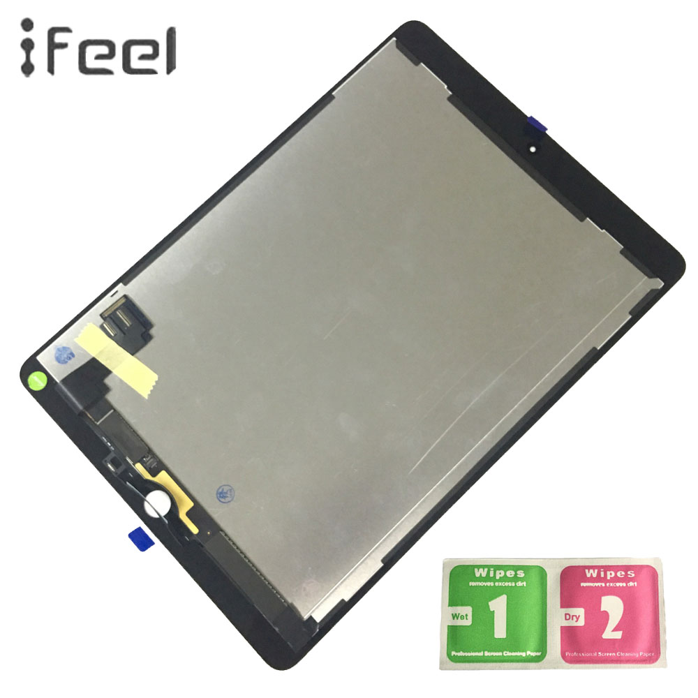 IFEEL 9.7inch For Apple iPad 6 Air 2 LCD Display + Touch Screen A1567 A1566 LCD Display Digitizer Panel Replacement PartsIFEEL 9.7inch For Apple iPad 6 Air 2 LCD Display + Touch Screen A1567 A1566 LCD Display Digitizer Panel Replacement Parts