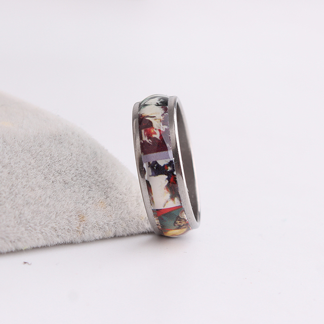 Tokyo Ghoul Photo Stainless Steel Finger Rings
