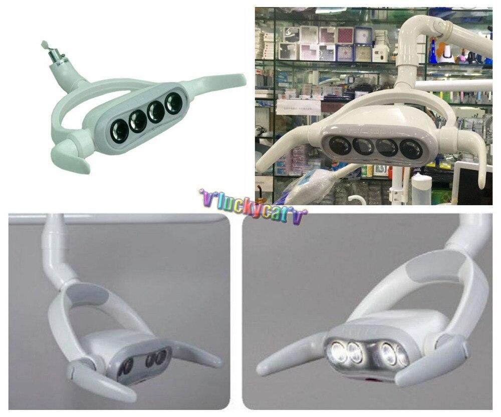 Lampe de lumière orale de LED dentaire pour la CX249-4 de lumière orale de Type de plafond de chaise d'unité dentaire