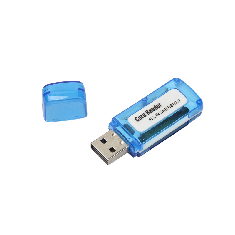 4 in 1 USB 2 0 Memory Multi Card Reader for M2 SD SDHC DV Micro