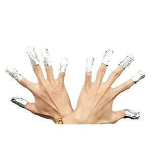 Image 5 - 50/100Pcs/Bag Aluminium Foil Nail Art Soak Off Polish Nail Removal Wraps Nail Towel Gel Polish Remover Manicure Tool