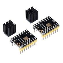 3D Printer Part Tmc2130 V2.0 Stepper Motor Stepstick Mute Silent Driver With Heatsink For Control Board (Pack Of 2