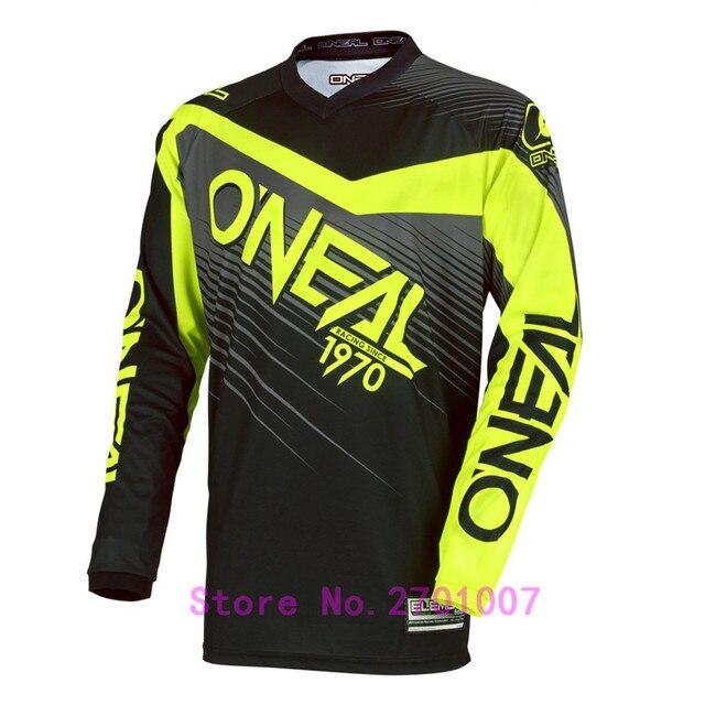 7403f9cde 2018 long sleeved jerseys BMX Downhill cycling Jersey ropa ciclismo ENDURO  TEAM pro rbx MTB Moto GP Mountainbike Motocross fluo