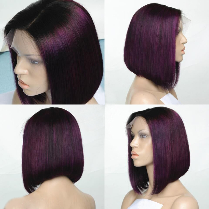 Angled Bob With Ombre | Short Hairstyle 2013