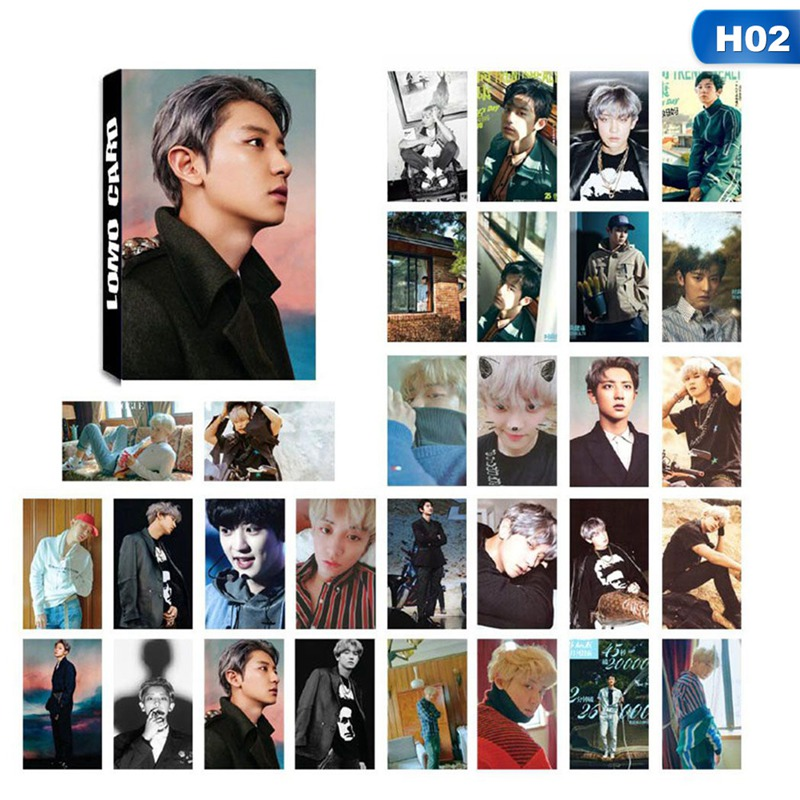 Constructive 30pcs/set Kpop Exo Album Self Made Paper Lomo Card Photo Card Poster Photocard Fans Gift Collection Office & School Supplies Business Cards