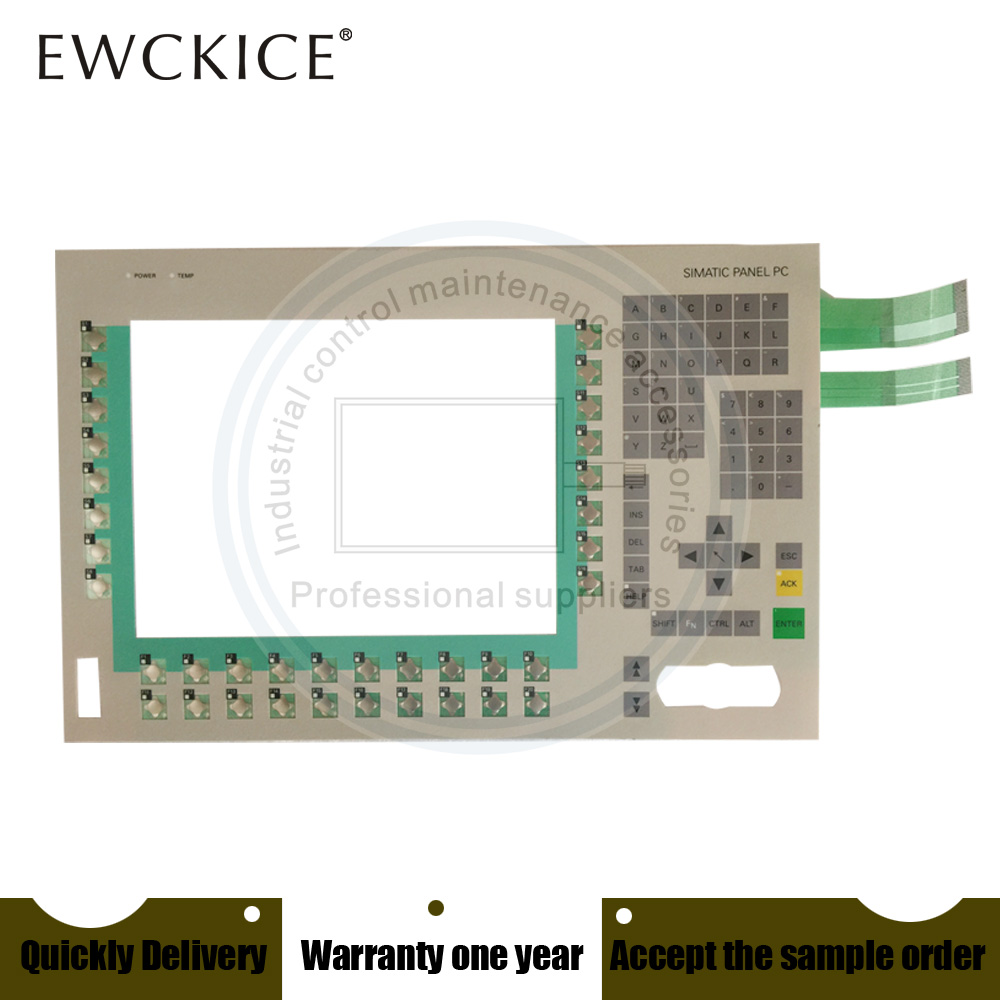 NEW Simatic Panel PC 6AV7721-1AC10-0AB0 PC670-12 6AV7 721-1AC10-0AB0 HMI PLC Membrane Switch keypad keyboard