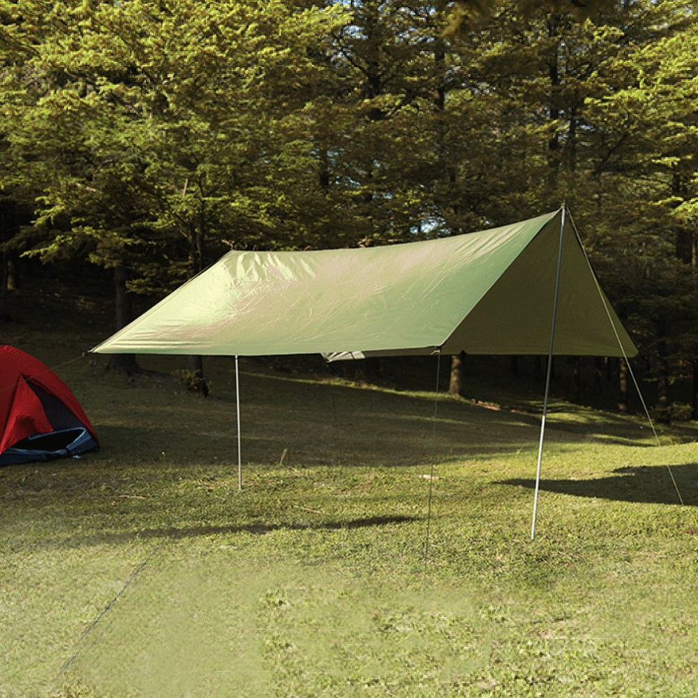 Al aire libre Ultralight Sun Shelter Anti radiación ultravioleta playa tienda de campaña impermeable carpa toldo Camping Sunshelter envío de la gota