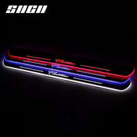 SNCN Trim Pedal LED Car Light Door Sill Scuff Plate Pathway Dynamic Streamer Welcome Lamp For Cadillac XTS 2014 2015 2016 2017