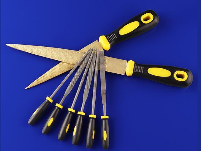 LQNB 4 pulgadas Juego de lima aguja de precision de artesania de joyeria